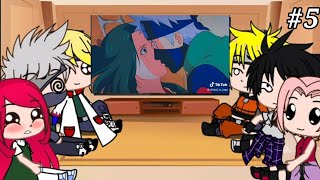 Реакция на видео из лайка и тик тока персонажей из аниме Наруто 5 часть