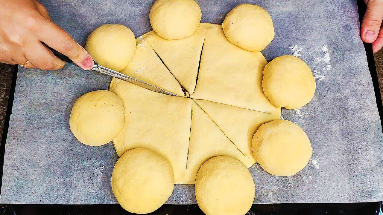 ПОДСМОТРЕЛА РЕЦЕПТ проходя мимо пекарни! ИДЕАЛЬНОЕ тесто ШИКАРНЫЙ сдобный пирог, для БОЛЬШОЙ СЕМЬИ!