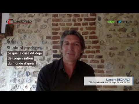 Les Entretiens de l'Académie : Laurent Dechaux