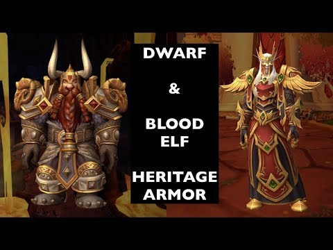 How To Unlock Dwarf & Blood Elf Heritage Armor   WoW Guide
