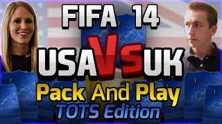 FIFA 14   UK VS USA PACK AND PLAY 'BPL TOTS'