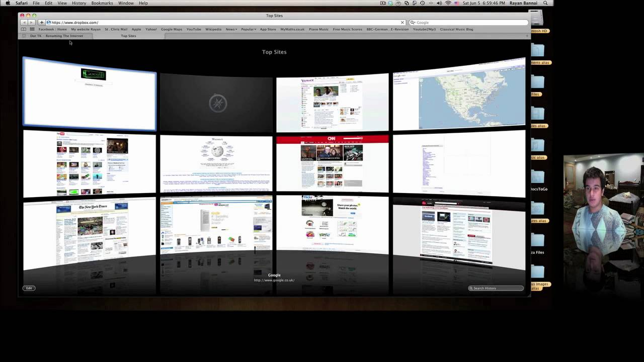 How to host iWeb website on internet for free