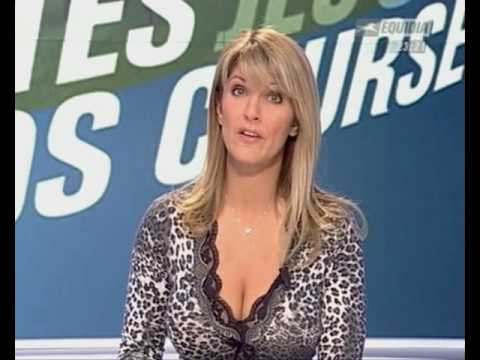 Amanda McLane - Cleavage - french TV channel Equidia