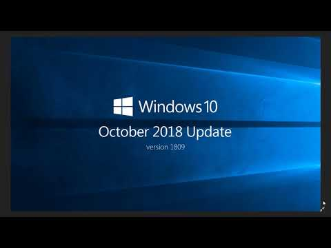 Windows 10 October 2018 update News or lack of News November 8th 2018