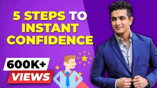 Instantly Become More CONFIDENT in Life - 5 step Confidence Boost | BeerBiceps Mental Fitness