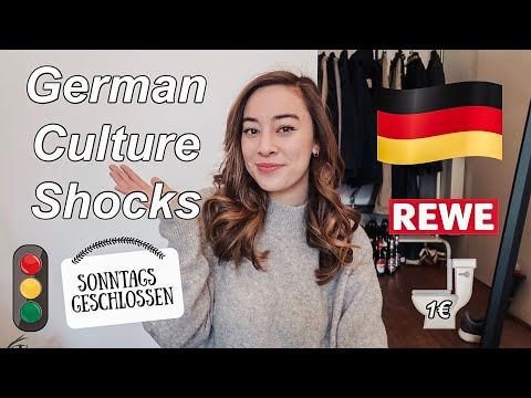 German CULTURE SHOCKS as an American Student