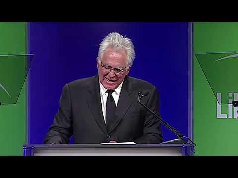 Albert Berger and Ron Yerxa receive Liberty Hill's 2014 Creative Vision Award.
