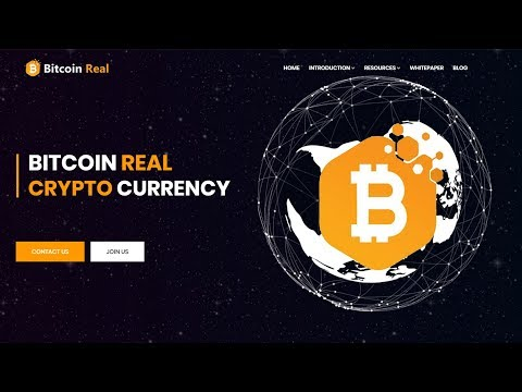 New Crypto Coin - BITCOIN REAL - BTCr - Review