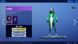 Fortnite Item Shop *New* SYNAPSE Skin! HEX WAVE Wrap! (June 15)