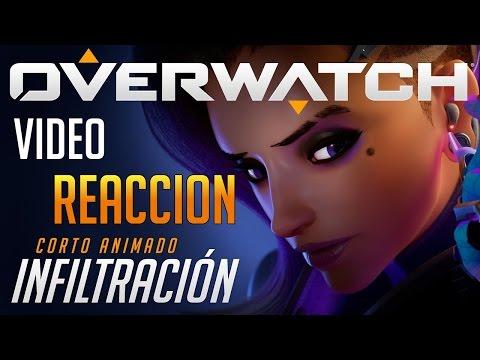 Overwatch | Cinematica en Español | Infiltración | SOMBRA Video REACCION