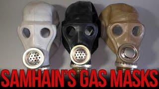 Обзор шлем-маски ШМС (от советских противогазов) - Видео от Samhain's Gas Masks