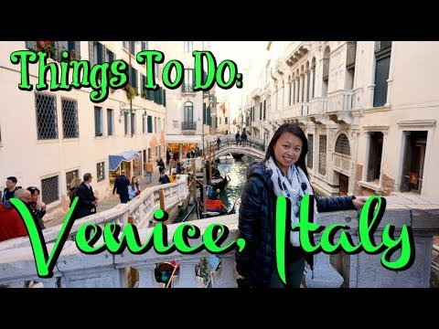 Venice, Italy: Top Things You Must See (the ESSENTIAL Travel Guide)