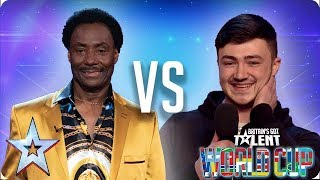 Donchez Dacres vs Wayne Woodward | Britain's Got Talent World Cup 2018