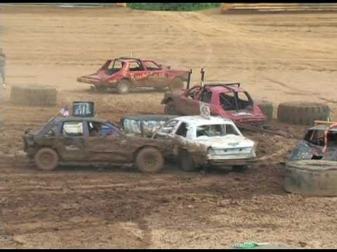 Kings of Karnage Figure 8 & Demo Derby Tyler Co Speedway July 2, 2016