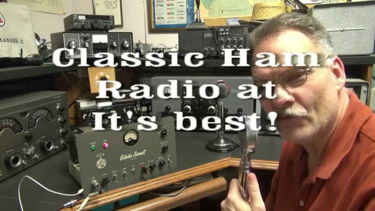 WRL Globe Scout 65b AM CW Transmitter Demo Classic Tone ...