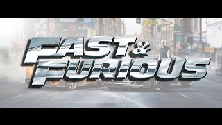 | FAST AND FURIOUS | Toyota Supra FT1 and Dodge Challenger SRT | by RP.DSGN