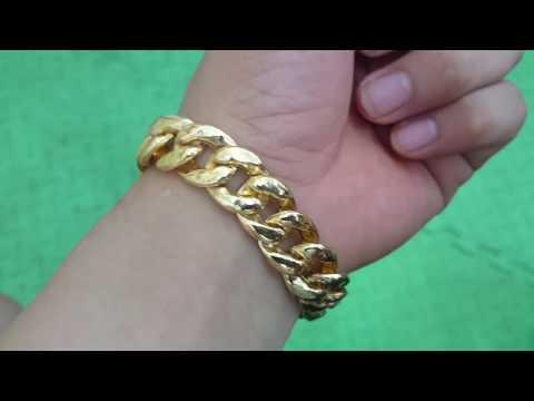 Lắc tay vàng tây | Lắc tay nam vàng| TSVN008362