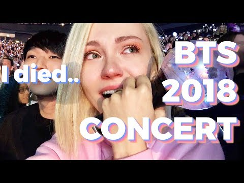 ✨My FULL BTS CONCERT Experience Movie  - BERLIN 2018 Love Yourself World Tour | Farina Jo
