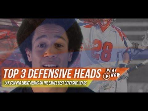 Lax.com's Top Three Defensive Heads   Lax.com Product Video