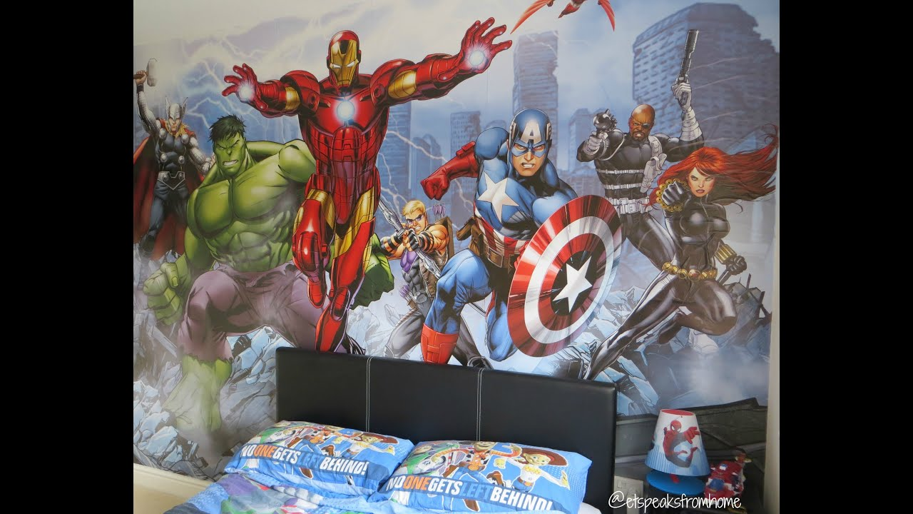 avengers graphic set licensed wall heroes removable fathead decal marvel assemble bedroom officially mural large pdp