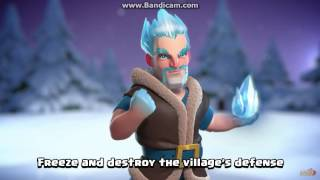 clash of clans/ lce wizard(clashmas gift#3)