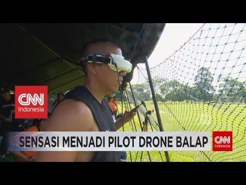 Inilah Sensasi Menjadi Pilot Drone Balap