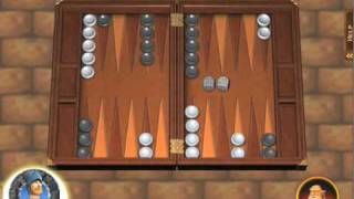 Hardwood Backgammon Trailer