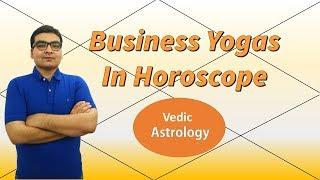 Astrological Combinations for Doing Own Business/Entrepreneurship (Vedic Astrology)