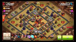 Road to 3,000 Trophies #12 - I actually got some trophies - MrLeSway - Clash of Clans