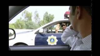 Motorway Police caught a guy