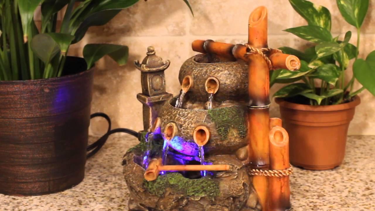 Bamboo Indoor Fountain