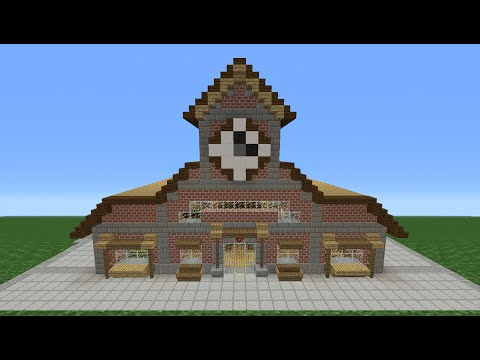 Minecraft Tutorial: How To Make A Train Station