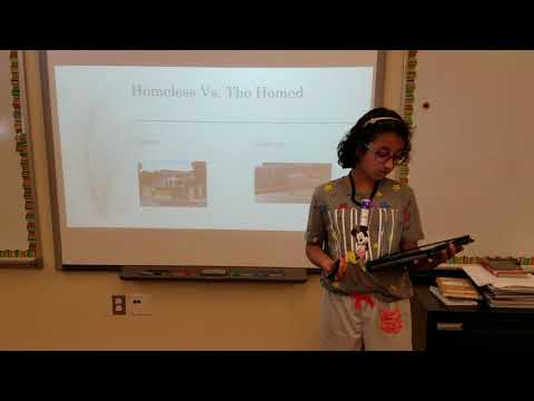 Homelessness | Suhavi Nath | Spiritridge Elementary School