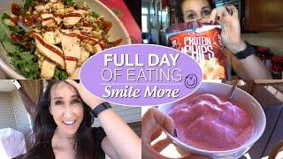 Full Day Of Eating - Smile More - Teeth Whitening Secret
