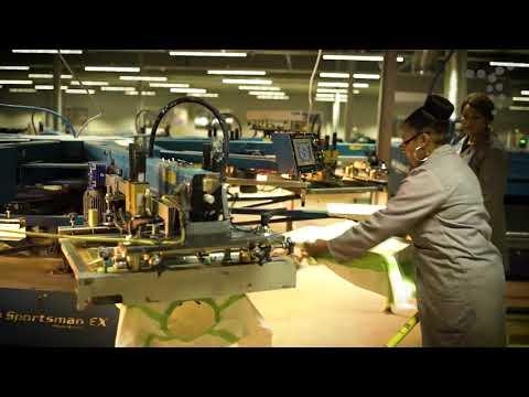 South African Corporate Branding - Screen Printing