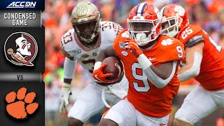 Florida State vs. Clemson Condensed Game | ACC Football 2019-20