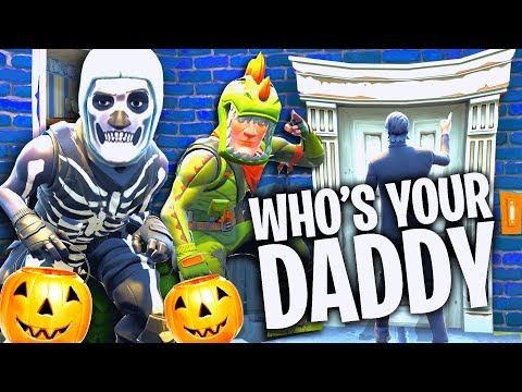 Süßes ODER Saures bei WHOS your DADDY FORTNITE!