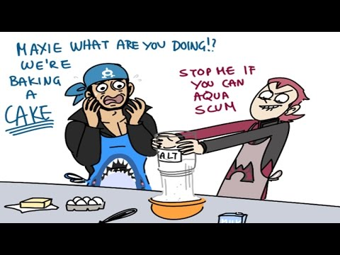 (Pokemon Comic Dub) - Maxie and Archie Bake A Cake