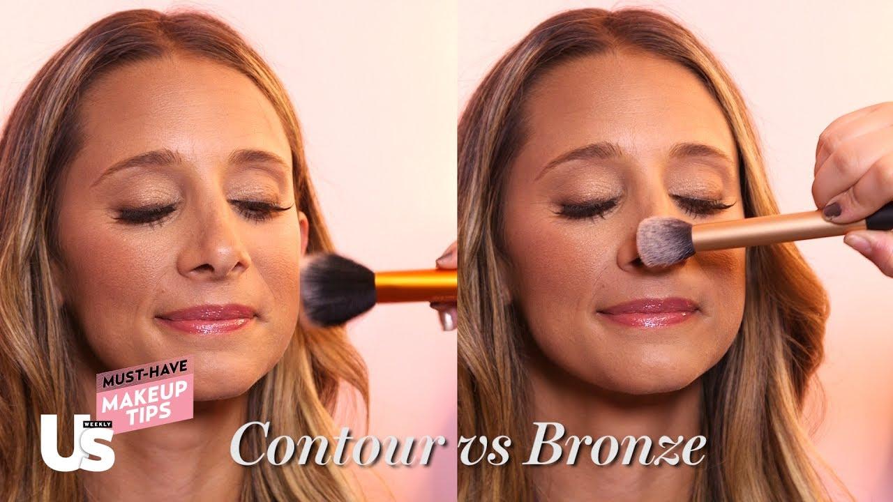 Wonderlijk Morning Makeup Tip: The Difference Between Bronzer and Contour WT-46