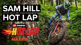 Sam Hill Takes On The Hot Lap Challenge | Pinkbike Hot Laps