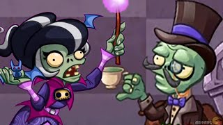 Plants vs. Zombies Heroes - Zomboss Battle With New Character Immorticia Unlcoked!
