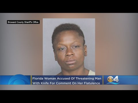 Qui West - Woman Allegedly Pulls Knife On Man Who Confronted Her About Her Loud Fart!