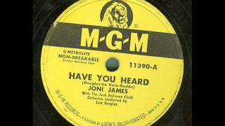 Joni James - Have You Heard (original 78 rpm)