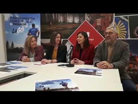 El III Medio Maratón Cidade de Lugo aúna deporte y solidaridad