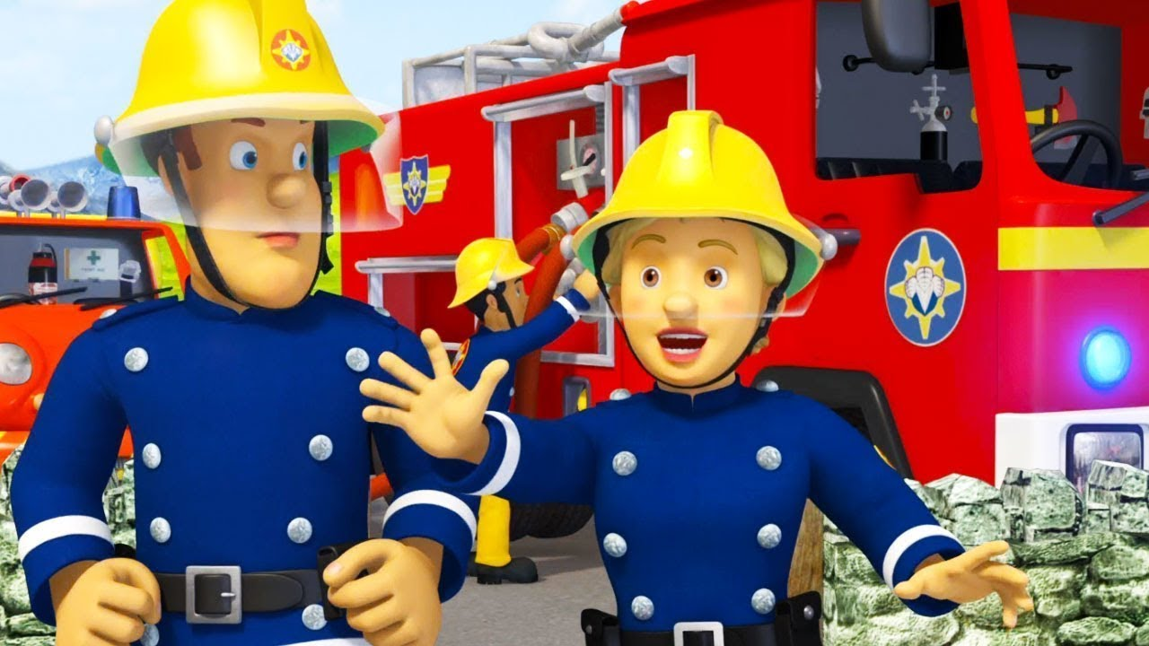 Sam le pompier en fran ais julie contre le feu sam la - Photo sam le pompier ...