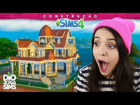 CONSTRUINDO COM FUNBABE! | Collab de Natal - Construção The Sims 4 (Speed Build)