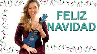 Feliz Navidad EASY Ukulele Tutorial with Play Along.mp3