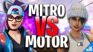 Fnatic MOTOR 1 VS 1 Atlantis MITRO | Creative Mode *Best EU Players*