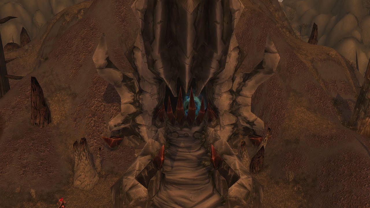 onyxias lair entrance wow mount guide youtube