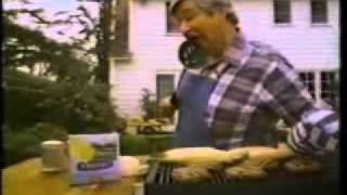 Parkay Margarine Commercial with Barbecue Man (1983)